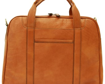 Soft Calfskin Leather Bag Old Angler (316)