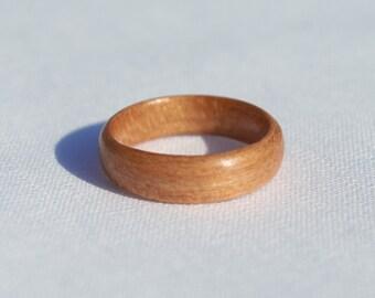 Handmade Cherry Bentwood Ring