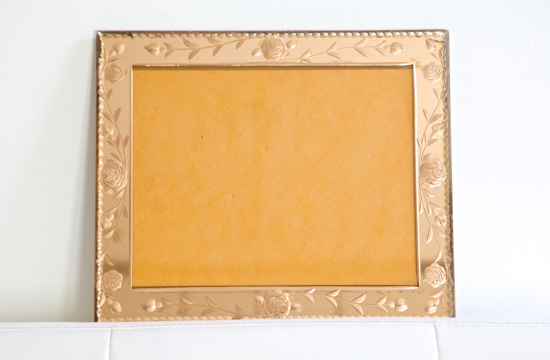 Vintage Art Deco Mirror Frame Glass Photo Frame French