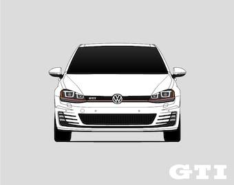 Volkswagen Golf GTI // A7 // Type 5G // Mk7 // VW