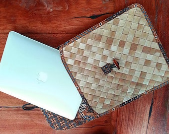 Bamboo Eco friendly Laptop Cover and Case
