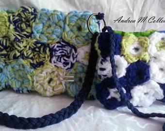 Crochet wristlet collections