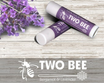 Two Bee Still - Bergamot & Lavender Lip Balm