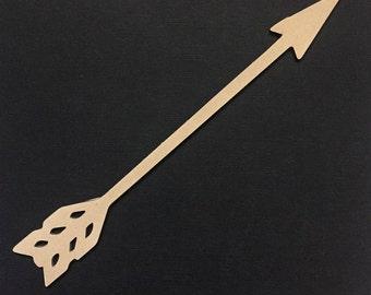 Arrow #2 Boho Native Flat Lay Prop - Photo Prop - Scrap Booking - Craft Supplies