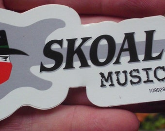Skoal music with bandit sticker new
