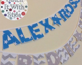Name Bunting - Made To Order