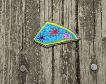Abstract Patch or Pin
