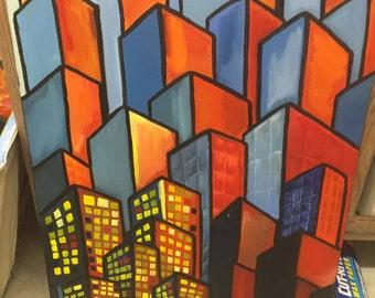 Colorful Skyscraper