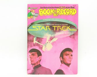 Star Trek Passage To Moauv PR-25 Book & Record