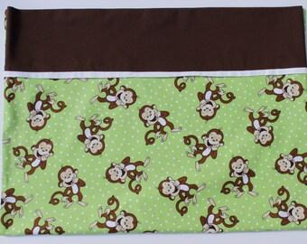 Pillowcase - Happy Monkeys