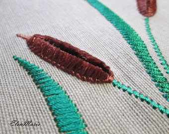 MACHINE EMBROIDERY DESIGN - Reed - velvet