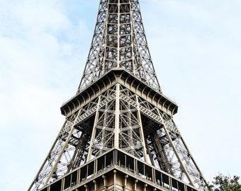 Eiffel Tower of Paris Digital Photography Print