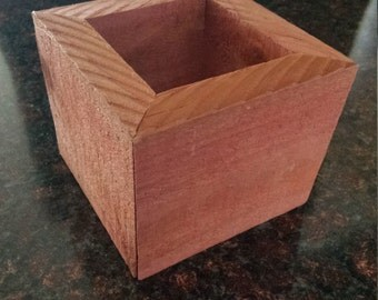 Reclaimed Redwood Planter Box