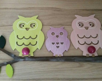Wearing decorative coat for family OWL nursery
