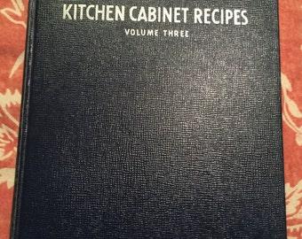 Sunset's Kitchen Cabinet recipes volume 3