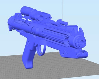 E-11 Blaster Rifle HD Quality Moving Parts