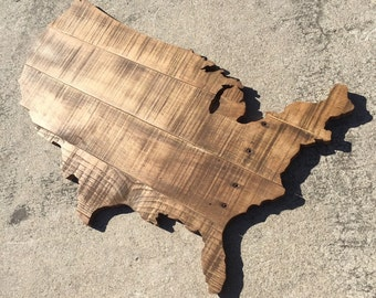 Stained palletwood USA