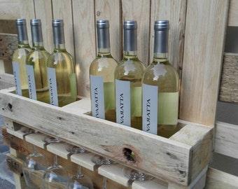 Wine racks clear naturally
