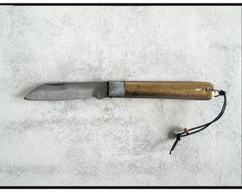 Brass Pocket Knife #53