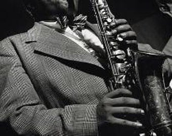 Charlie Parker Poster - Jazz Saxophone - Rare Hot New 24x36