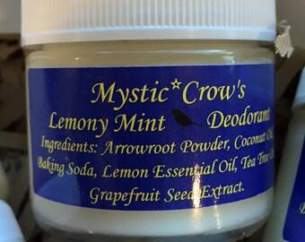 Lemony Mint Deodorant