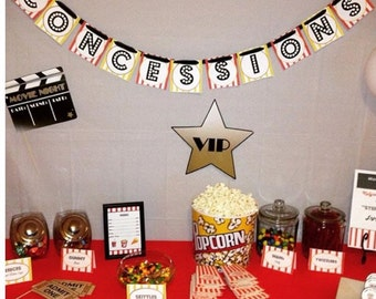 Movie Night Party In A Box/ Movie Night Party Package