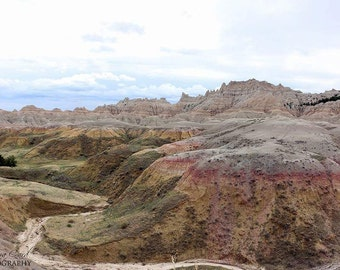 Badlands South Dakota Photo