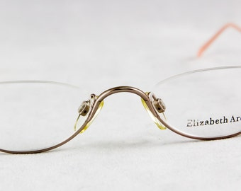 New old stock ELIZABETH ARDEN eyeglass frame Half Eye  Lightweight Reader frame
