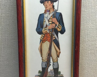 1959 Fredrick Elmiger's Washington's Bodyguard Framed Art Work