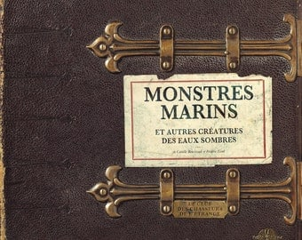 Book: Monsters sailors and other creatures of the dark waters by Camille Renversade & Frédéric Lisak