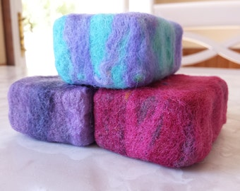 Wool Felted Soap Etsy