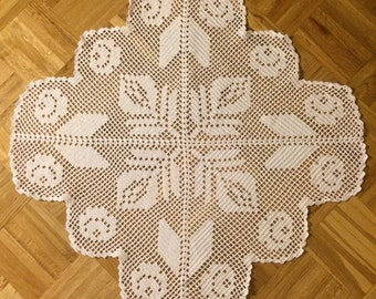 Crochet Doily 28 inches