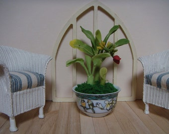 For your conservatory a 1/12 th scale banana tree.