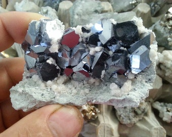 Galena-Dolomite-Borieva mine-Madan  Bulgaria