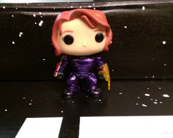Custom Mass Effect Commander Jane Shepard Pop Vinyl
