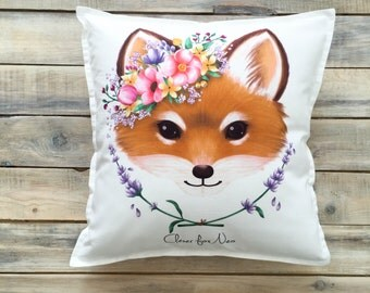 READY TO SHIP! Cute Fox pillow