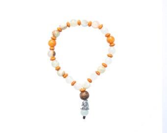O-Quartz Mala Bracelet