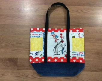 Dr. Seuss Tote Bag - A Different One of a Kind