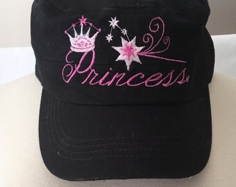 Embroidered Princess Trucker Hat