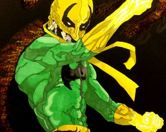 "Iron Fist ""The Living Weapon"""