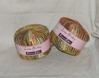 Various Ribbon Stripes, Louisa Harding, Plymouth Meteor,  Artful Showstopper, Elegant Colors