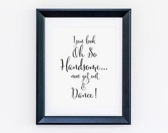 wedding bathroom etsy Vintage Restroom Signs Printable Cute Wedding Signs