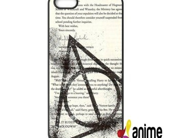 New Arrivals Harry Potter Deathly Hallows Symbol Hard Case Cover For iPhone 4 4s 5 5s 5c 6 6plus, printing case
