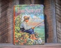 The Adventures of Tom Sawyer ; Mark Twain ; Whitman Publishing Co ; Literary Fiction ; Classic Literature ; Literature ; Classic Mark Twain