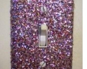 Glitter Light Switch Cover