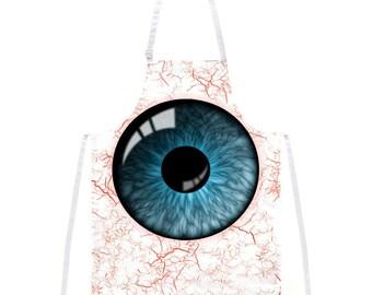 Blue Eyeball Costume Apron