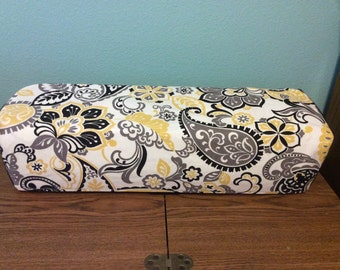 Cricut Explore/ Air/ Air 2/ One Custom Handmade Yellow Dust Cover with Piping