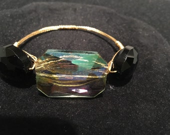 """Flexable Bangle With Soft Wire """"Mid-Arm"""" Look"""
