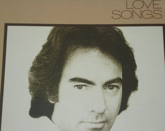 SEALED Neil Diamond record album, Love Songs vintage vinyl record