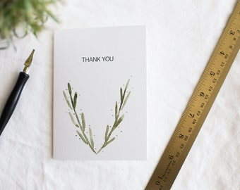 Desert Thank You Card Stationary